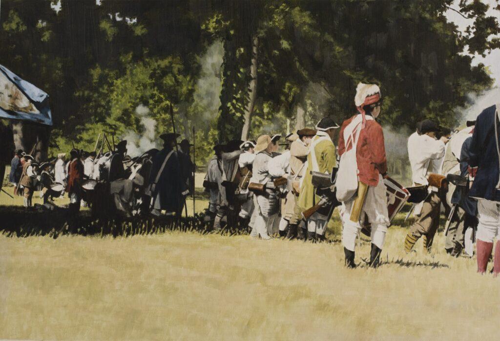 George Washington's Army and Me
